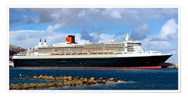 Póster  Queen Mary 2 in the port of La Palma - MonarchC