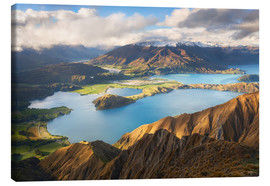 Lienzo  Wanaka Mountains - Michael Breitung