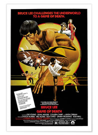 Póster Game of Death (inglés)