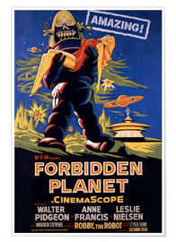 Póster  Forbidden Planet