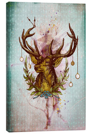 Lienzo  Oh Deer, is that the time? - Sybille Sterk