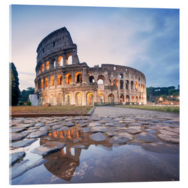 Cuadro de metacrilato  Colosseum reflected into water - Matteo Colombo