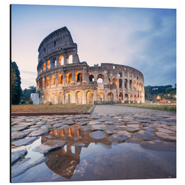Cuadro de aluminio  Colosseum reflected into water - Matteo Colombo