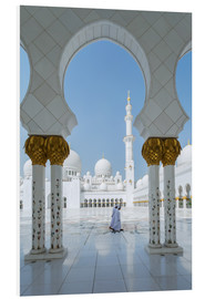 Cuadro de PVC  Sheik Zayed Grand Mosque, Adu Dhabi, Emirates - Matteo Colombo
