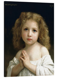 Cuadro de aluminio  The Prayer - William Adolphe Bouguereau