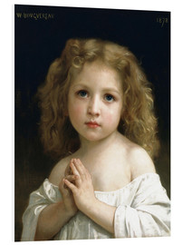 Cuadro de PVC  The Prayer - William Adolphe Bouguereau