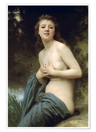 Póster  Springbreeze - William Adolphe Bouguereau