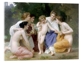 Cuadro de metacrilato  The admiration - William Adolphe Bouguereau