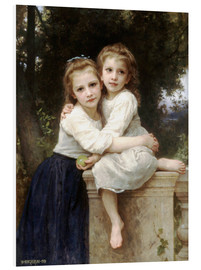 Cuadro de PVC  Two sisters - William Adolphe Bouguereau