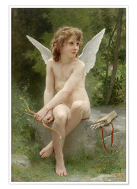 Póster  Cupido - William Adolphe Bouguereau