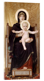 Cuadro de metacrilato  Virgen y niño - William Adolphe Bouguereau