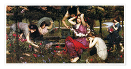 Póster  Flora - John William Waterhouse