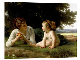 Cuadro de metacrilato  Temptation - William Adolphe Bouguereau