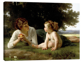 Lienzo  Temptation - William Adolphe Bouguereau