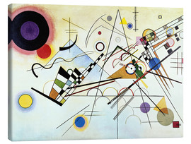 Lienzo  Composition no. 8  - Wassily Kandinsky