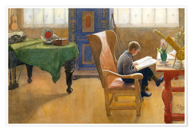 Póster  Documento - Carl Larsson