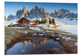 Forex  Hut and Odle mountains, Dolomites - Matteo Colombo