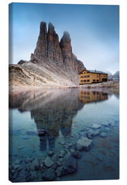 Lienzo  Vajolet towers in the Dolomites - Matteo Colombo