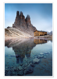 Póster Vajolet towers in the Dolomites