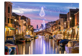 Matteo Colombo - Canal in Venice at Christmas