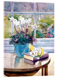 Metacrilato  Flowers and Book on Table - Julia Rowntree