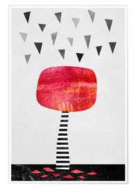 Póster  The Red Tree - Elisabeth Fredriksson