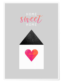 Póster  Home Sweet Home - Elisabeth Fredriksson