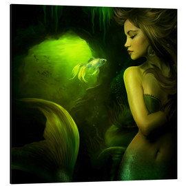 Aluminio-Dibond  The mermaid - Elena Dudina