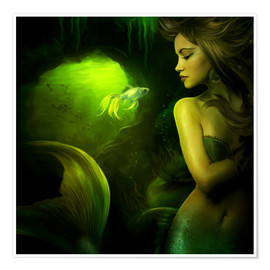 Póster  The mermaid - Elena Dudina