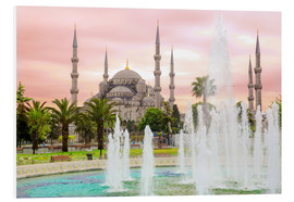 Cuadro de PVC  the blue mosque (magi cami) in Istanbul / Turkey (vintage picture) - gn fotografie