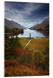Cuadro de metacrilato  Glenfinnan Monument - Scotland - Martina Cross