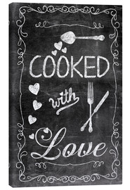 Lienzo  Cooked with Love - Andrea Haase
