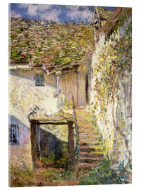Metacrilato  The staircase - Claude Monet