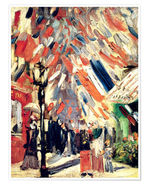 Póster The 14th of July. 1886