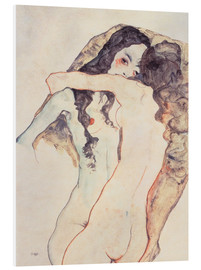 Forex  Two women in embrace - Egon Schiele