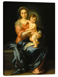 Lienzo  Madonna and Child - Bartolome Esteban Murillo