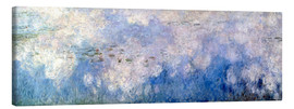 Lienzo  Waterlilies, panel B II. - Claude Monet
