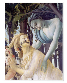 Póster Spring, Cephir and the nymph Chloris