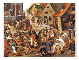 Póster The Seven Acts of Mercy