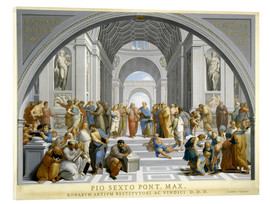 Metacrilato  School of Athens (after Raphael) to 1771-79 - Giovanni Volpato