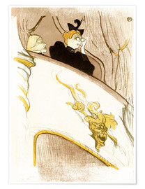 Póster The Loge with the golden mask