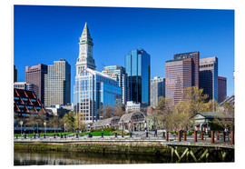 Cuadro de PVC  Boston Downtown - Columbus Waterfront Park - Sascha Kilmer