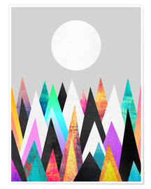 Póster Colorful Peaks 2