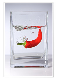 Póster Spicy Water