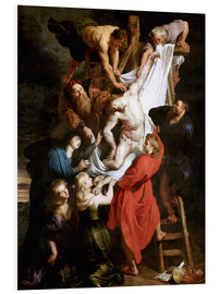 Cuadro de PVC  Descent from the Cross - Peter Paul Rubens