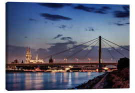 Lienzo  Daybreak in Cologne - Tanja Arnold Photography