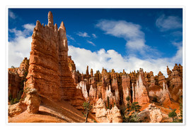 Póster  Queen's garden trail at Bryce Canyon - Circumnavigation