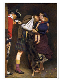 Póster  The Order of Release - Sir John Everett Millais
