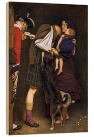 Cuadro de madera  The Order of Release - Sir John Everett Millais
