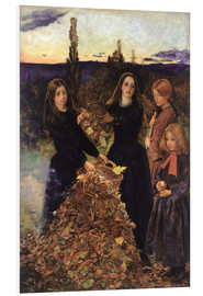Cuadro de PVC  Autumn Leaves - Sir John Everett Millais